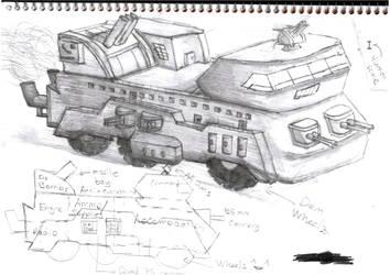 Trummerwagen Ausf A by C3H6N6O6