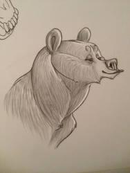Blissful Bear by chennanigan