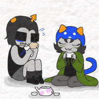 Tea Time by pm-artist