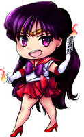 Sailor Mars by Frills-Of-Justice