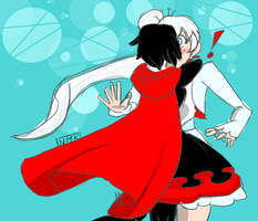 Rwby and Weiss by superfungirl