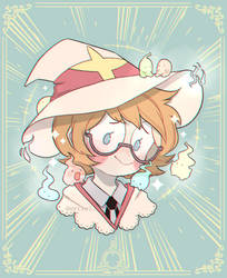 Little Witch Academia: Lotte Yanson! by Deviiel