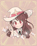 Little Witch Academia: Akko Kagari! by Deviiel
