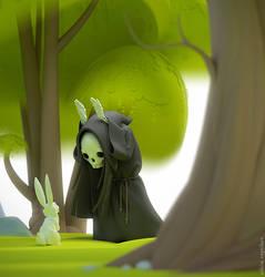 Hi, rabbit by veprikov