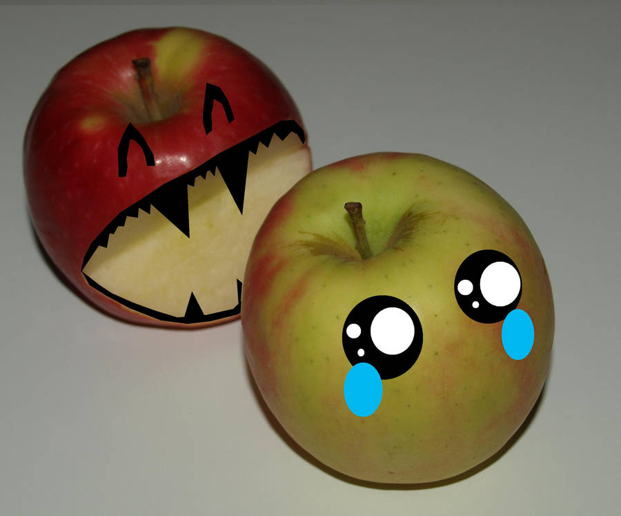 Apples Emoticons by sparks1992
