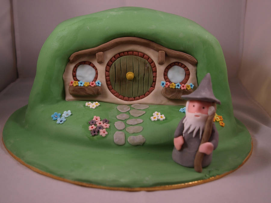 Hobbit Cake by sparks1992