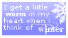 when i think of winter by obsidianstamps