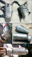 post apocalyptic armor by Neg-319