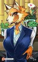 Retsuko by Hassly