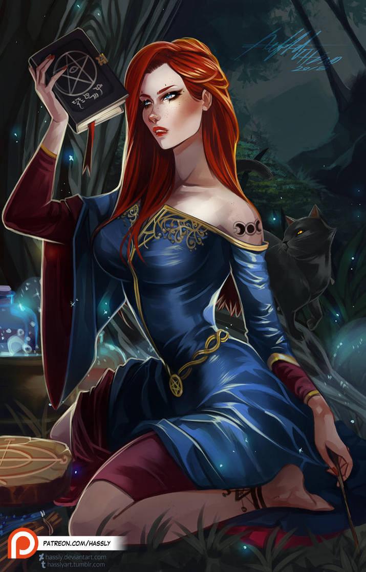 Alice Kyteler by Hassly