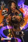 Voodoo Witch by Hassly