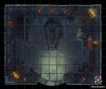 Crypt Battle Map by Hassly