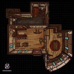 Inn, Lower Floor by Hassly