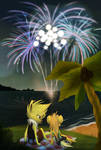 PKMNC- Firework with Sade by Yolly-anda
