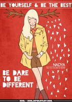 be different by kum---kum