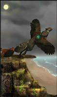 Gryphon Tarot - The Fool by Bailiwick
