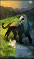 Gryphon Tarot - Death by Bailiwick