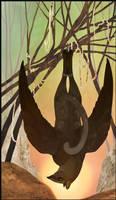 Gryphon Tarot - Hanged Man by Bailiwick
