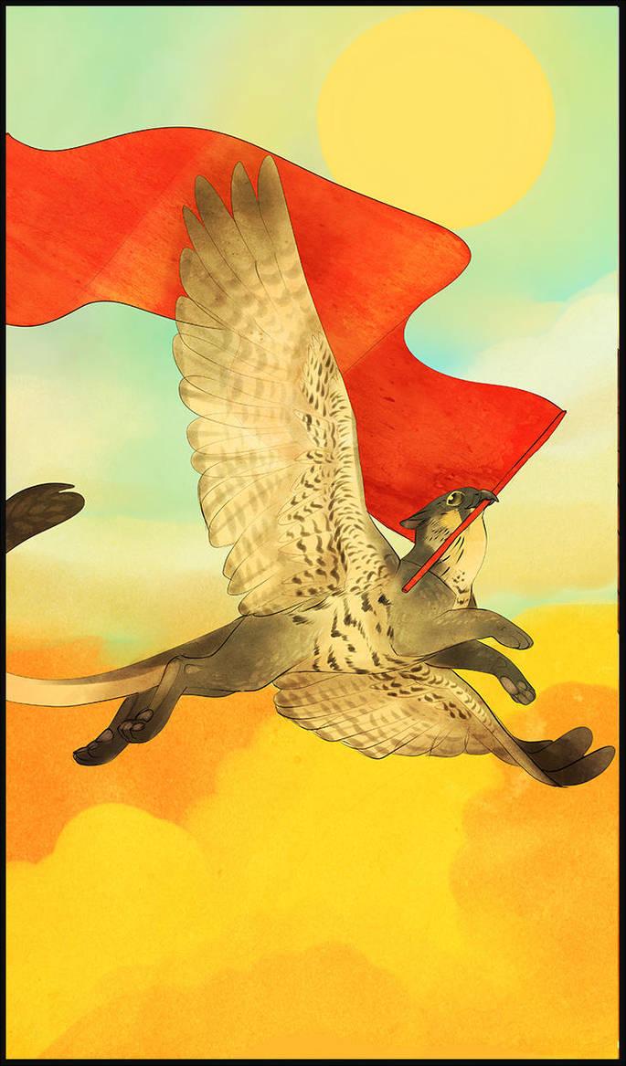 Gryphon Tarot - The Sun by Bailiwick