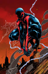 Spider-Man 2099 Colours by CrisstianoCruz