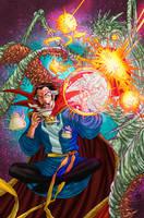 Doctor Strange Colors by CrisstianoCruz