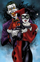 Joker And Harley Colors by CrisstianoCruz