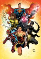 justice league Colors by CrisstianoCruz