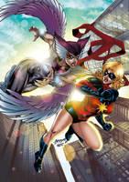 Miss marvel vs Deathbird Colors by CrisstianoCruz