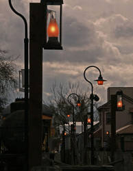 glow of old Sacramento by captnemo42