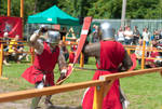Knight's tournament by vertiser