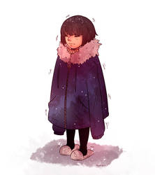 So cold! by Amichiinyan