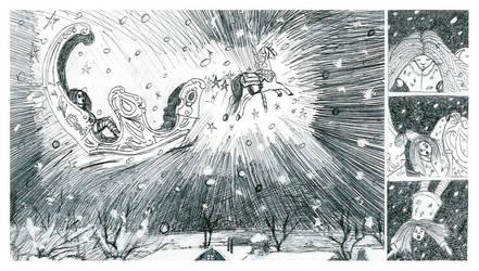 Winter Carousel by Wolfke74