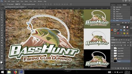 BassHunt Logo by aletspandia
