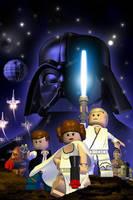 LEGO Star Wars by shadowtek