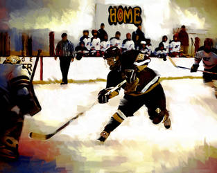 Ice Hockey by lindabell