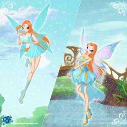 Winx: Kalea Merlin's Adventure by DragonShinyFlame