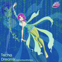 Winx: Tecna Dreamix by DragonShinyFlame