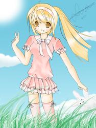 Anime Girl 2 by sunyeon-snsd