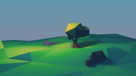 2d lowpoly 13042015 by Imrooniel