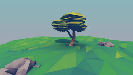 3d lowpoly 23042015 by Imrooniel