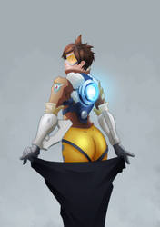 Tracer Fanart by Imrooniel