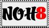 NOH8 Stamp by KittehKou