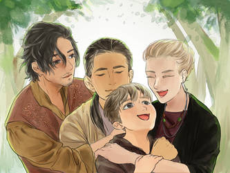 Little Family by xiemon-shi