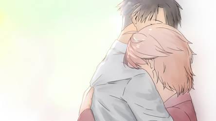 Hug by xiemon-shi