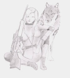 Sniper Wolf by MHT002