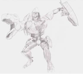 Beast Wars Megatron by MHT002