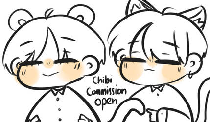 Chibi commission open by Cam-babyorange