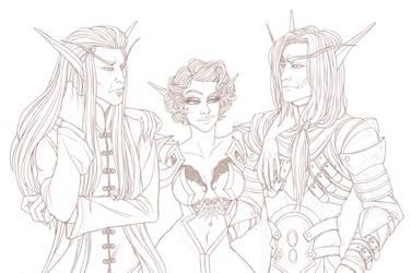 [C] lussyisbabe - trio by RoughReaill