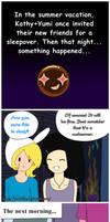 Summer Vacation Mini Comic: ... T T by Yumi-kito