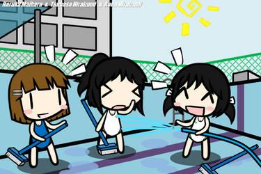[Walfas]Cleaning the pool by tsunetake1012